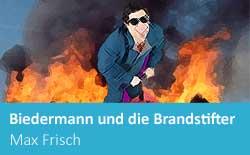 Biedermann und die Brandstifter, Frisch, essay, summary, A level, IB